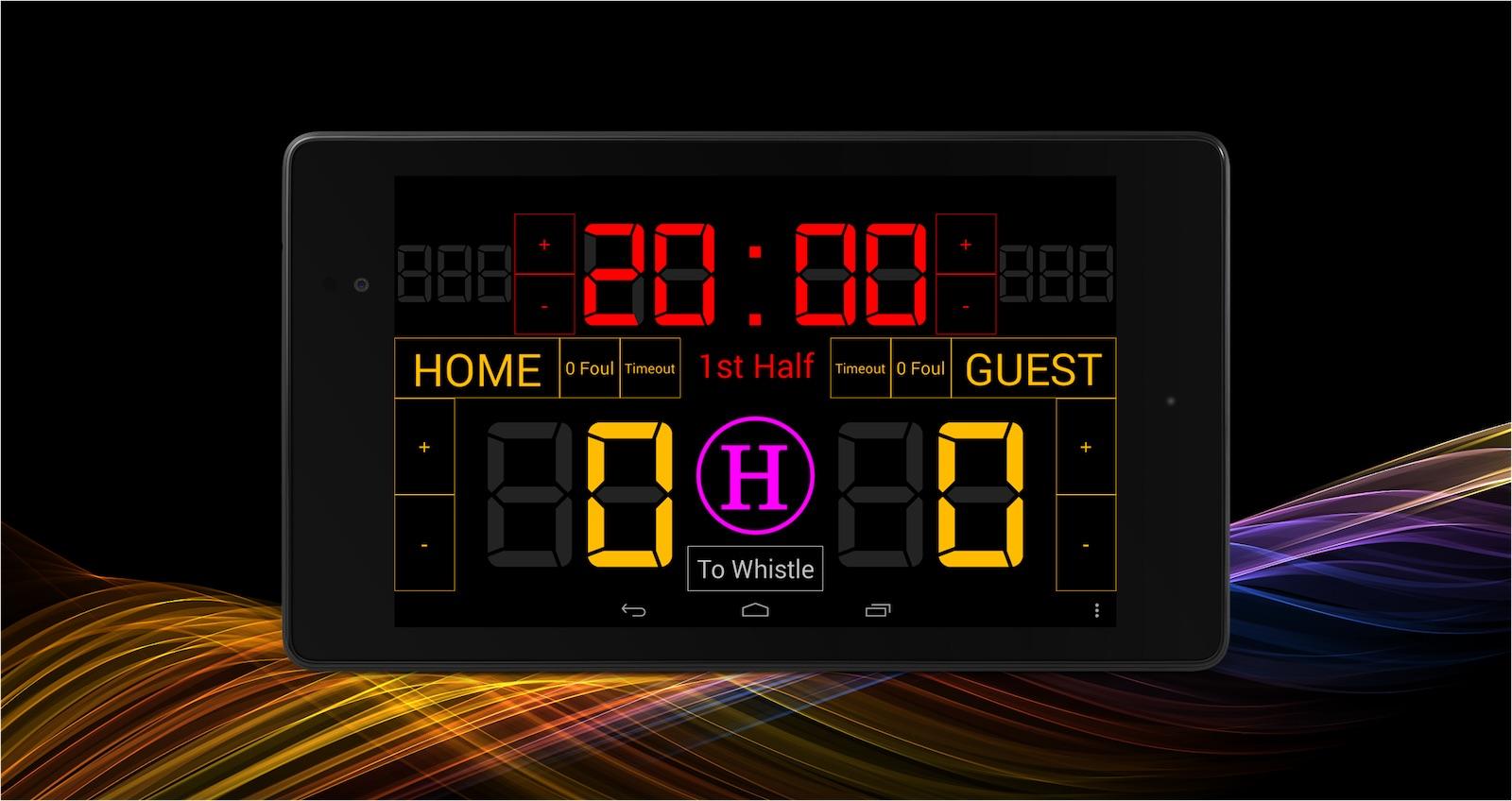 5. Scoreboard Futsal